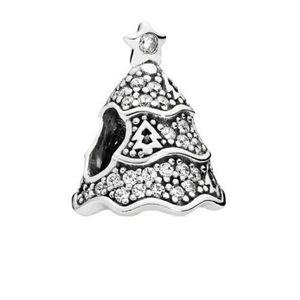 PANDORA Twinkling Christmas Tree Charm